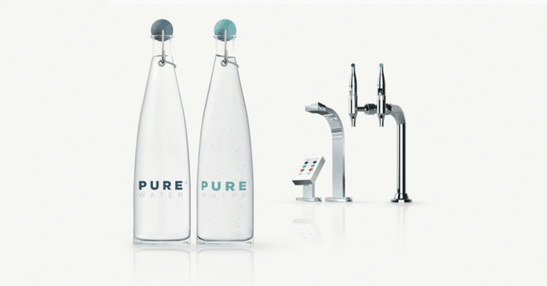 pure water filtered water