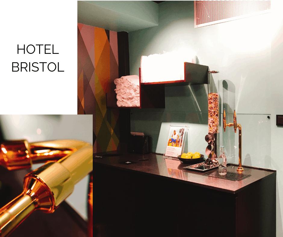 Hotel Bristol Oslo x pure water location story