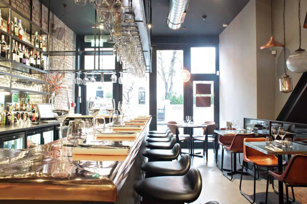 Margaux in London serving PURE WATER from their PUREpoint