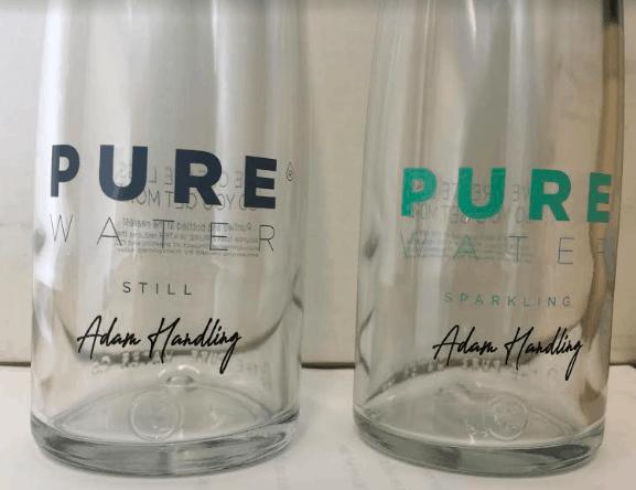 PUREbottle personalised for Adam Handling