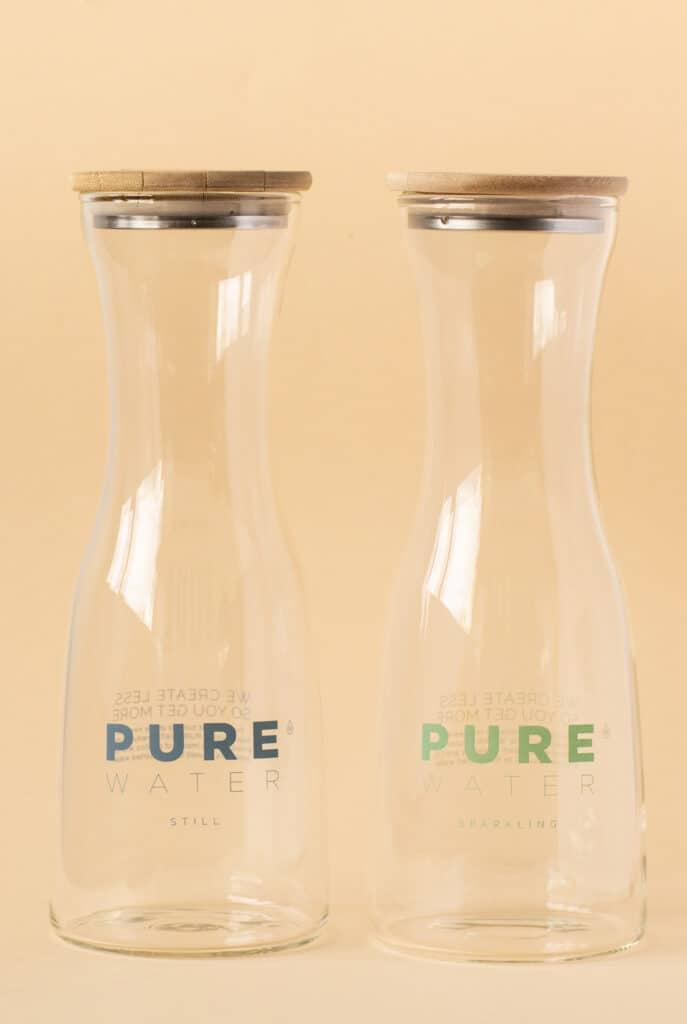 PUREelegance. Latest edition reusable water bottle.