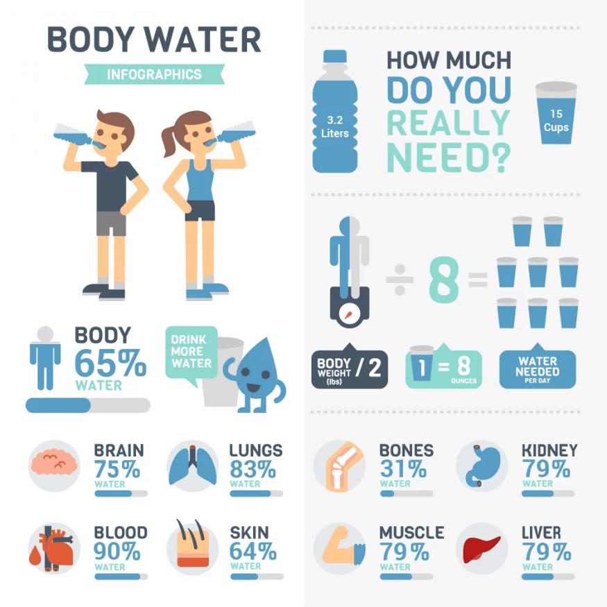 varför behöver vi vatten