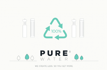 pure water filter recycling process