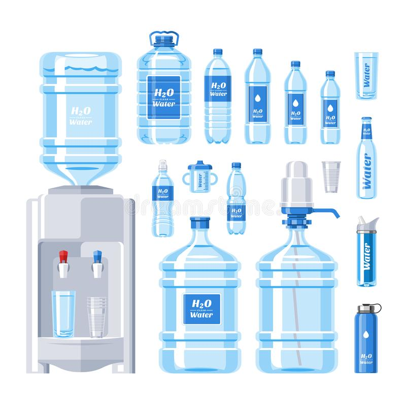Types of transported water